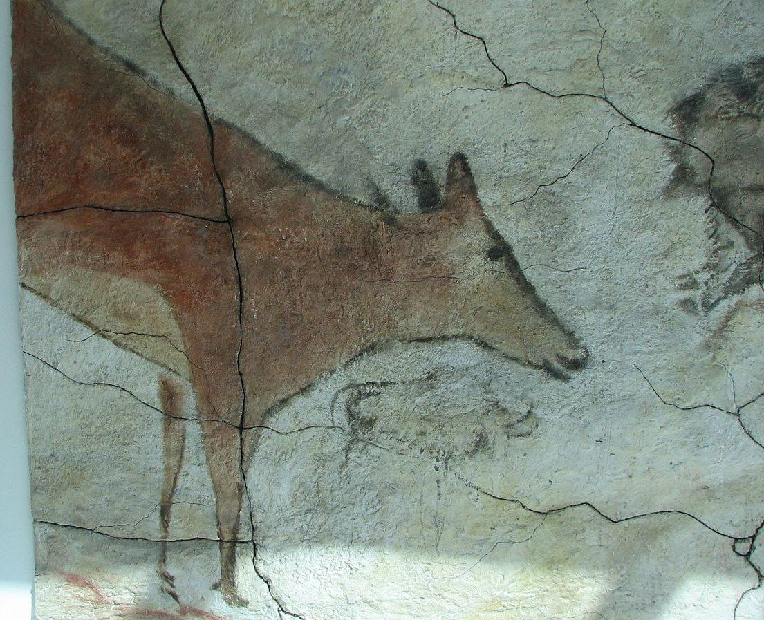 Höhlenmalerei in der Höhle von Altamira