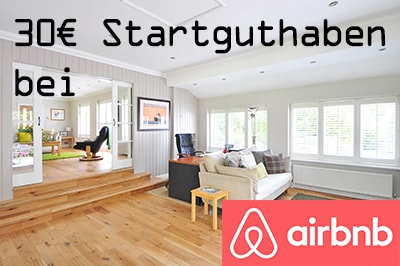 30€ Startguthaben bei airbnb