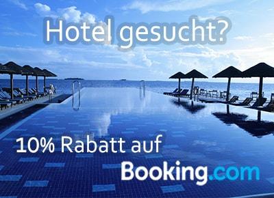 10% Rabatt auf Booking.com