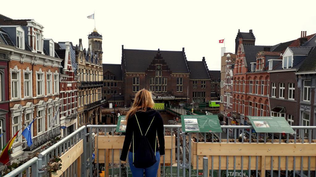 Ausblick vom Aussichtsturm am Bahnhof