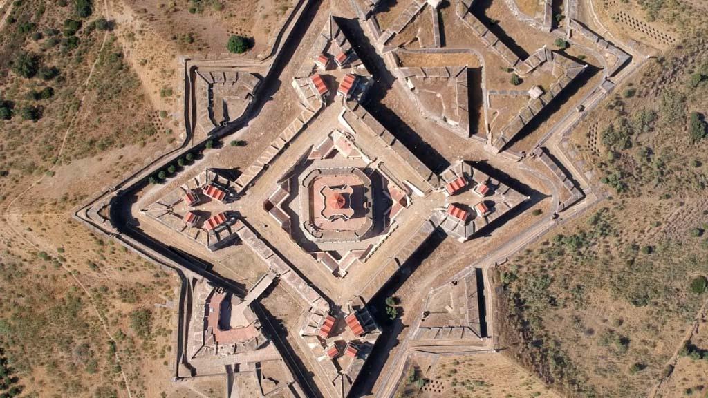 Festung Nossa Senhora da Graça von oben
