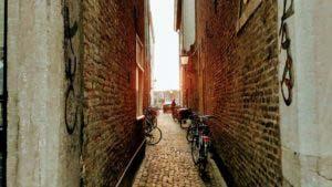 Side street of the Rechtstraat