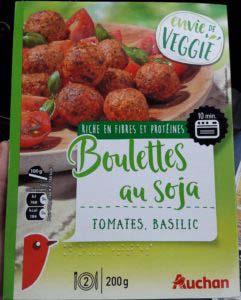 Boulettes au soja