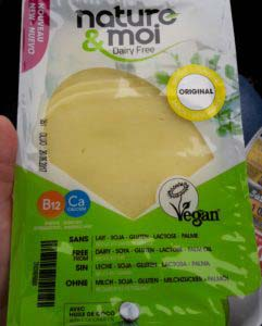 nature & moi vegan cheese