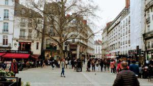 City center Nantes