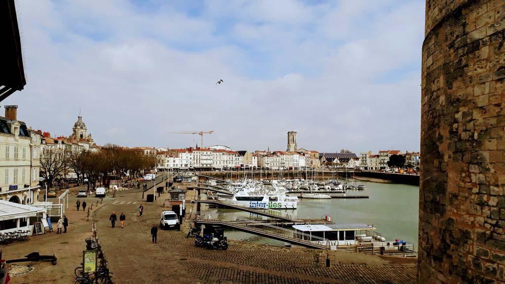 Vieux Port with Tour de la Chaîne