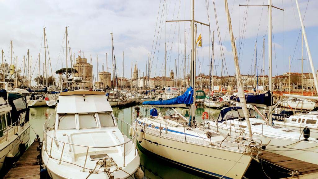The old harbor (Le Vieux Port) with the three towers