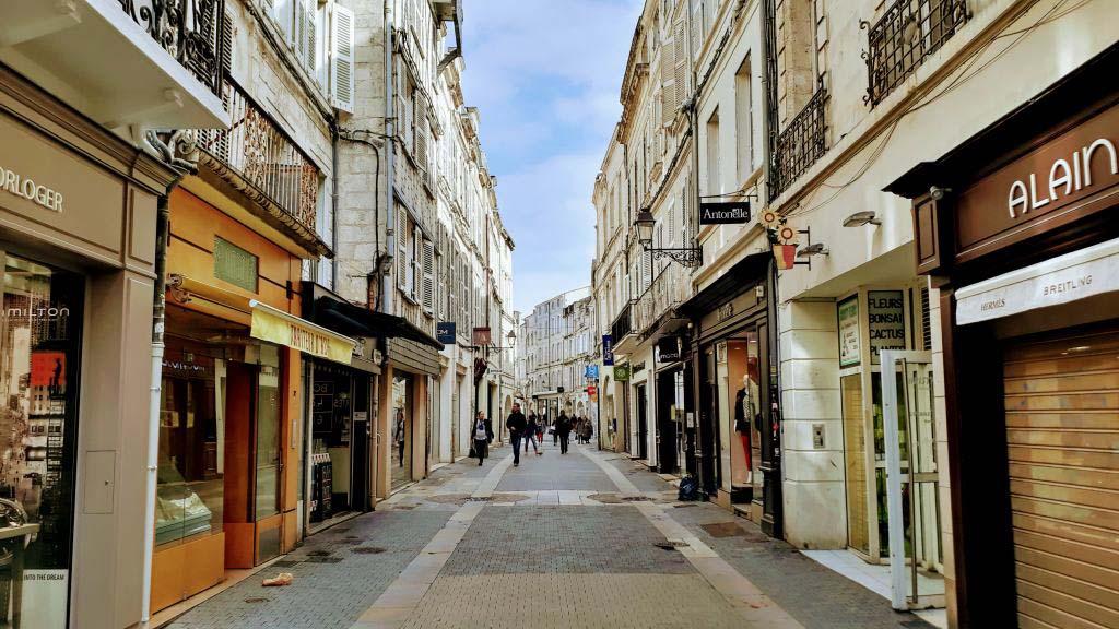 Old town La Rochelle