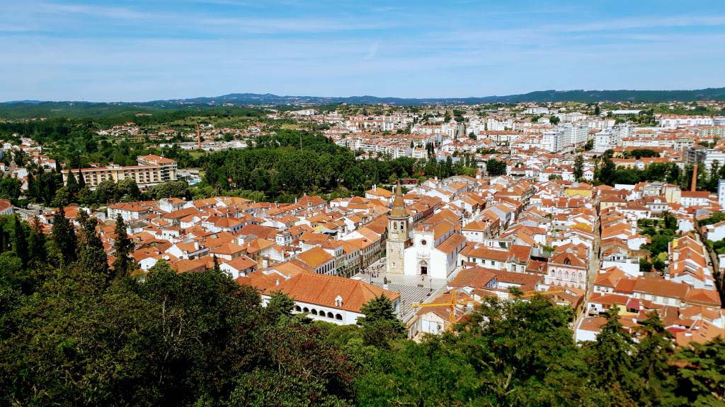 View of Tomar from Convento de Cristo