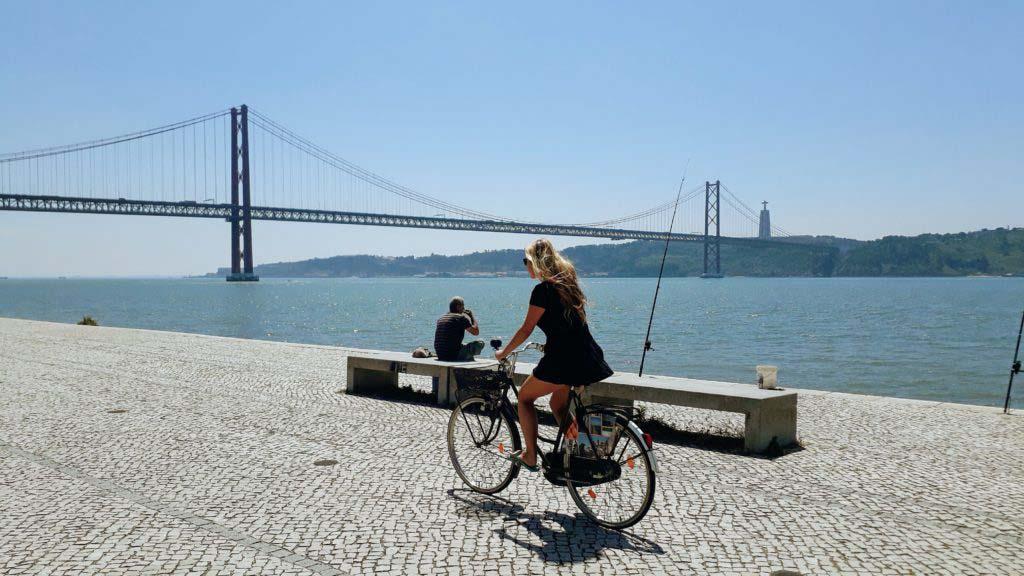 Lisbon by bike