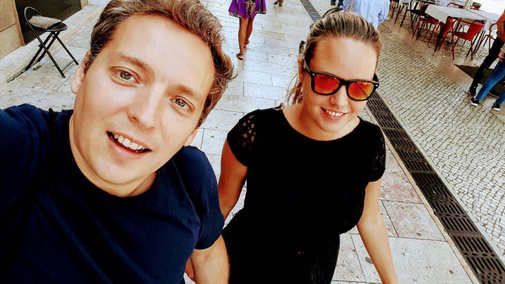 Lisbon on foot