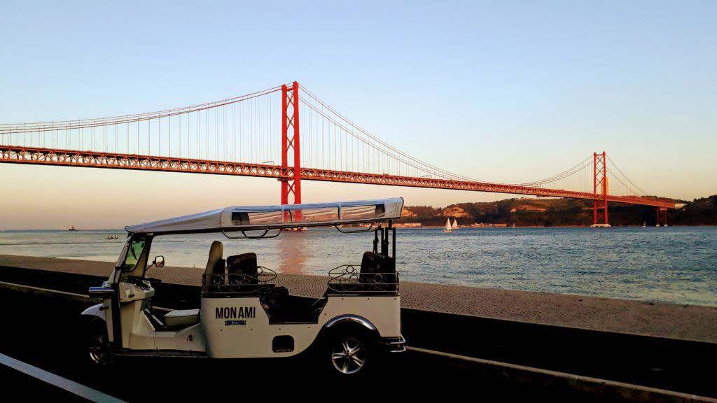 Lisbon by Tuk-Tuk & Segway