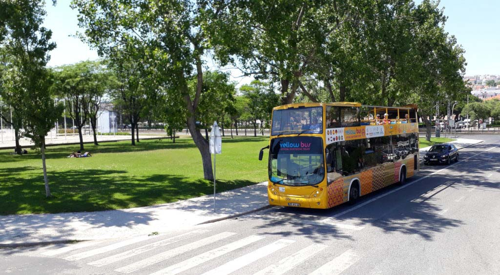 Lisbon by Hop-On-Hop-Off-Bus