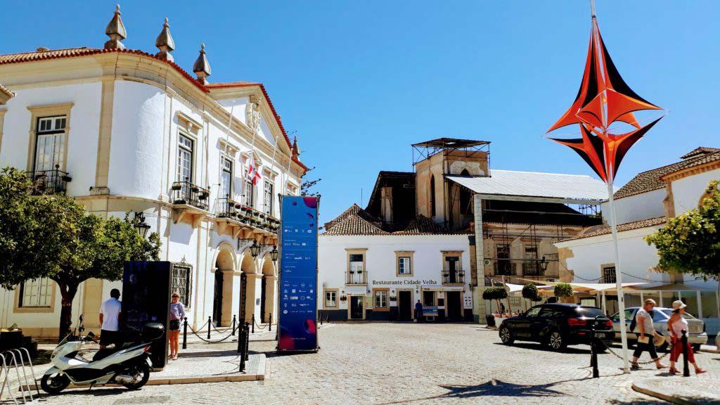 Faro's old town Vila Adentro