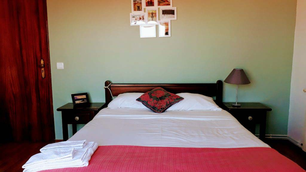 Double room in the Atlantic Lodge