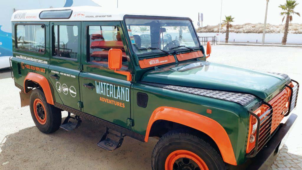 Waterland Adventures Jeep