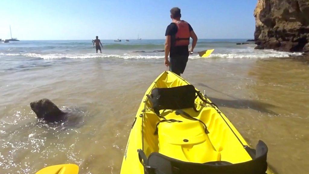 Our kayak :)