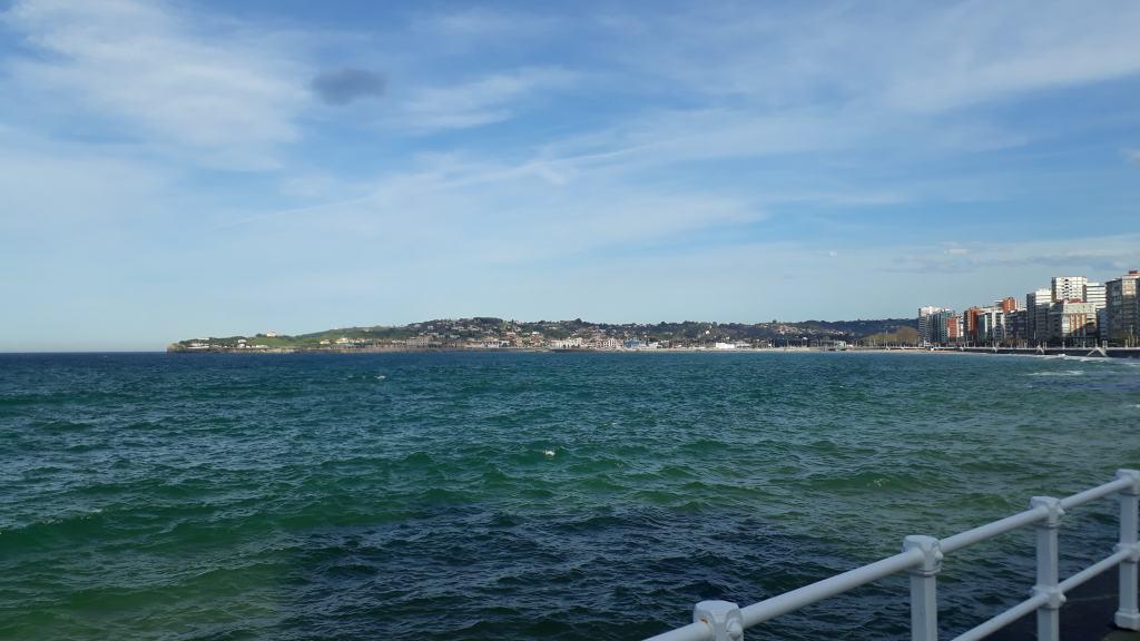 View of Playa de San Lorenzo