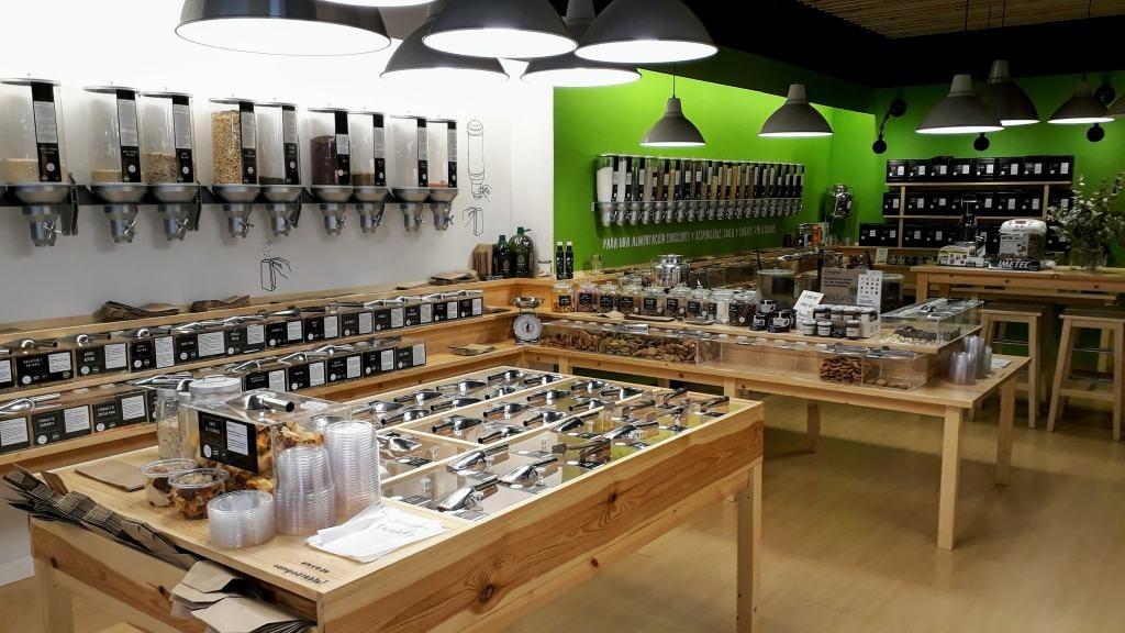 Also Gijón has an unpacked shop
