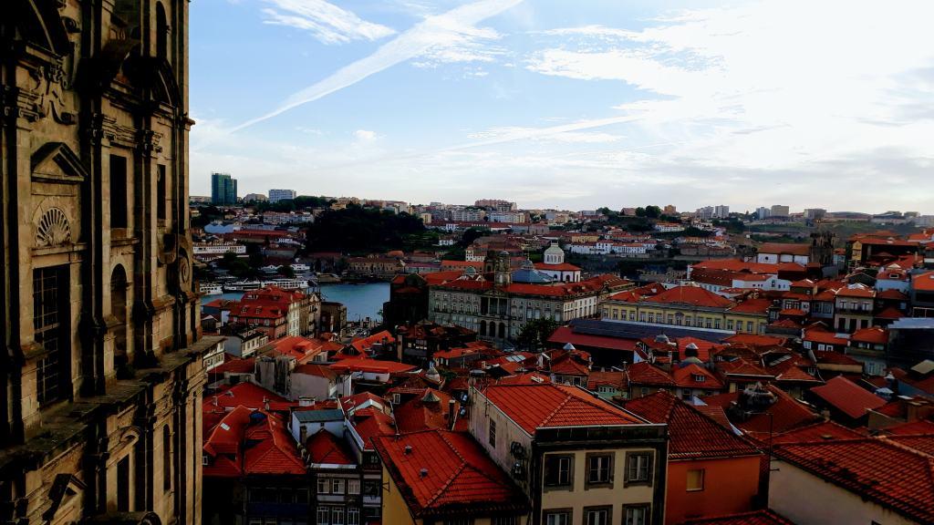 View from Igreja de São Lourenço