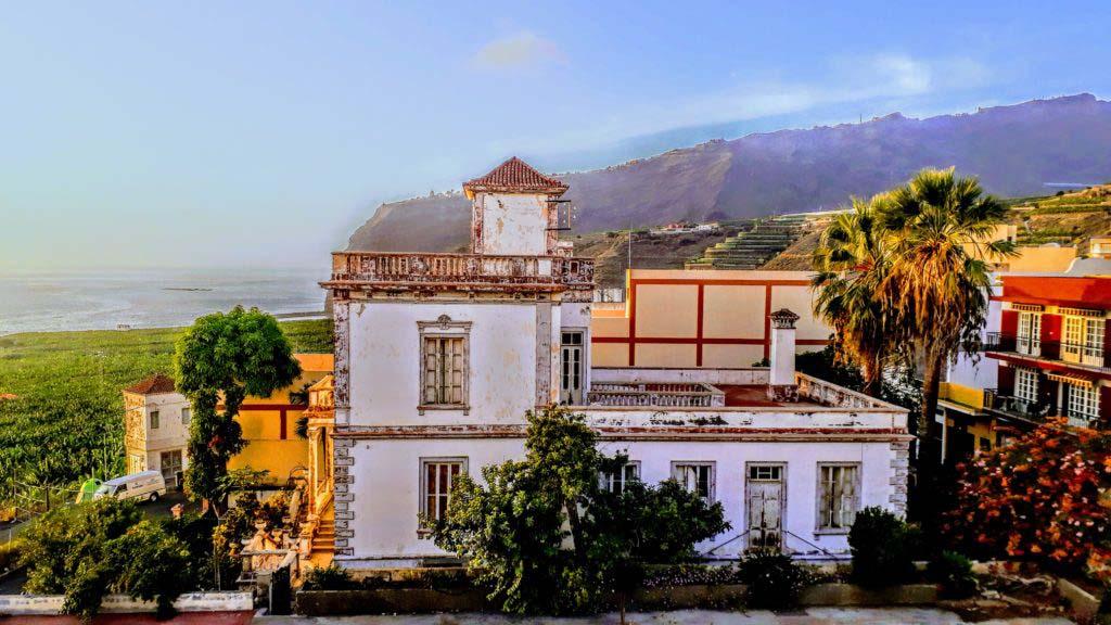Old villa in Tazacorte