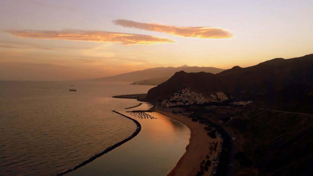 View from Mirador Las Teresitas