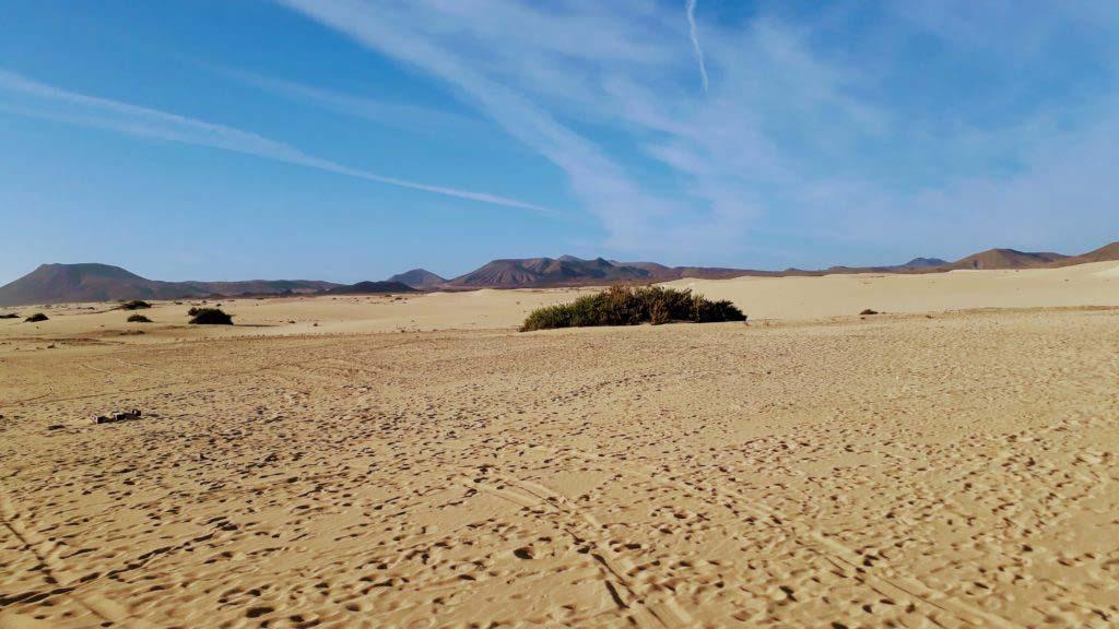 Parque Natural de Corralejo on Fuerteventura