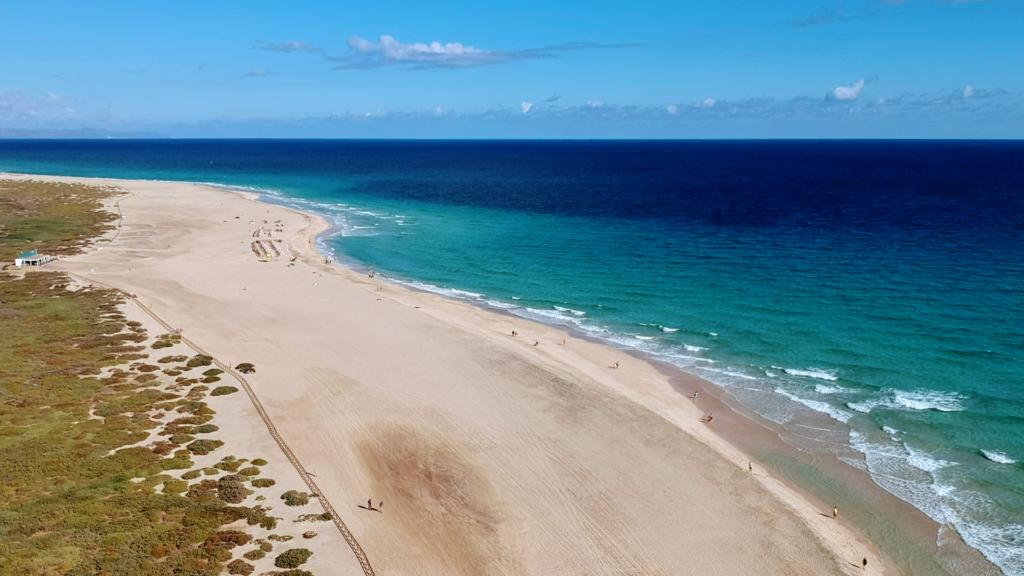 Beach at Morro Jable