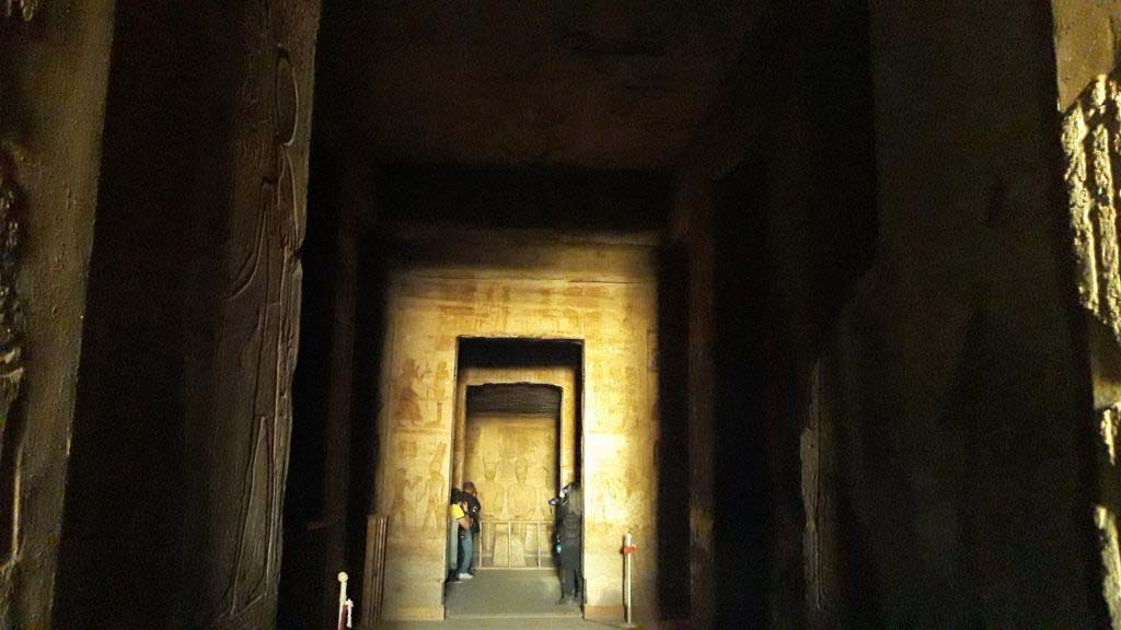 Sun miracle in the Great temple of Abu Simbel