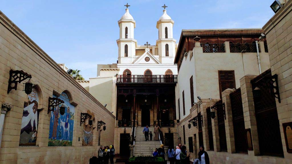 The Hanging Church - Cairo's most famous Coptic church