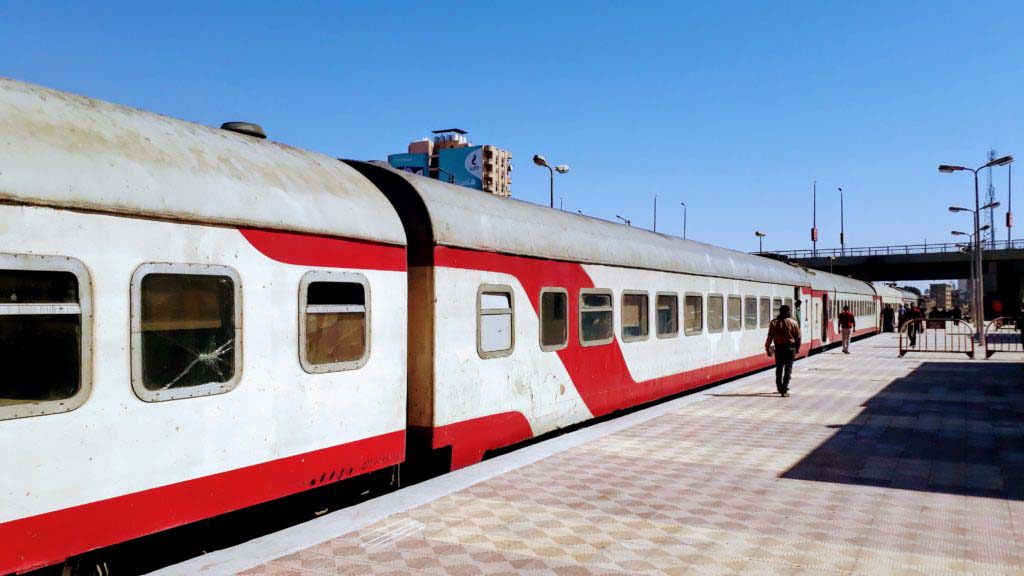 Train in Egypt
