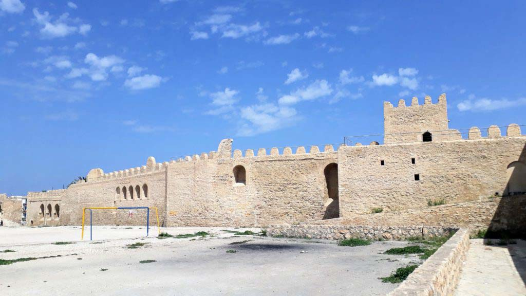 City wall around the Medina of Sousse