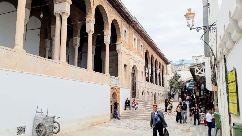 Ez Zitouna Mosque in the Medina of Tunis