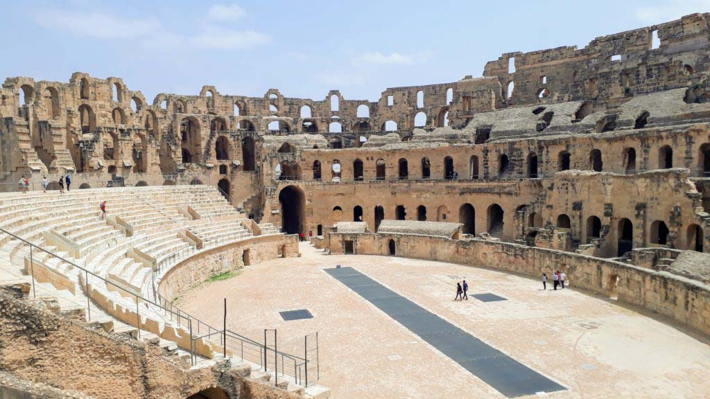 The amphitheater from the inside