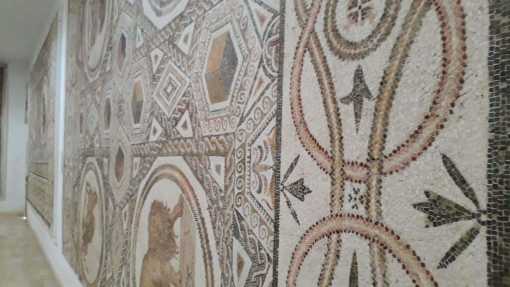 Mosaic in the Museum of El Djem