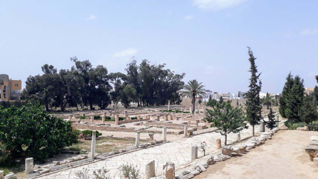 Archaeological excavations in El Djem