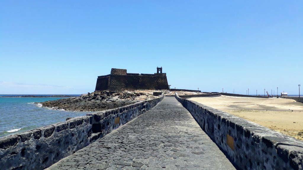 Castillo de San Gabriel on the Islote de los Ingleses