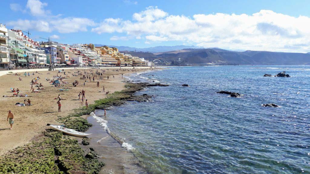 Playa de las Cantera in Las Palmas de Gran Canaria