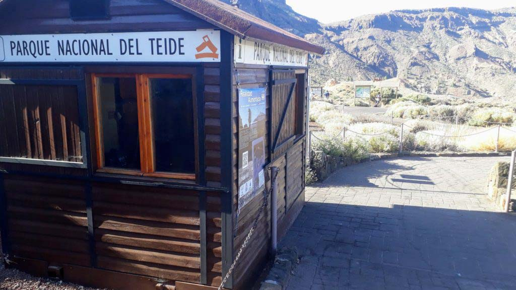 Cañada Blanca Visitor Center in the Parque Nacional del Teide in Tenerife