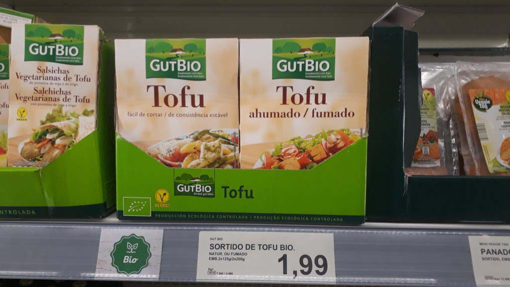 Tofu, smoked or nature