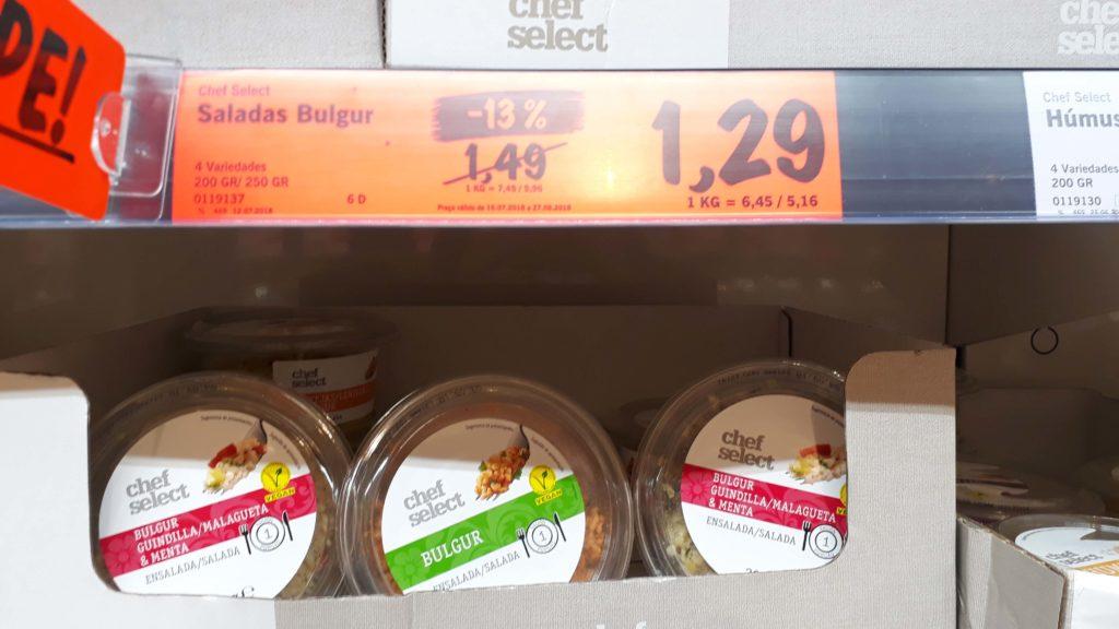 Vegan bulgur salads