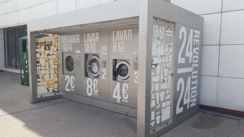 Additional tip: In front of almost every major Intermarché there are washing machines available. That's where we always did our laundry in Portugal :D