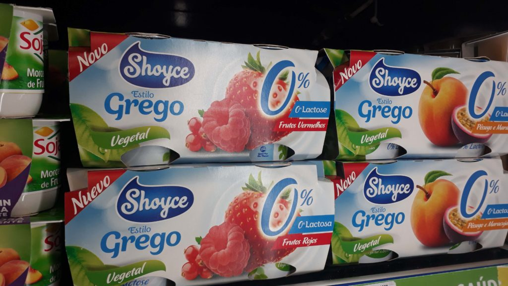 Greek yogurt from Shoyce