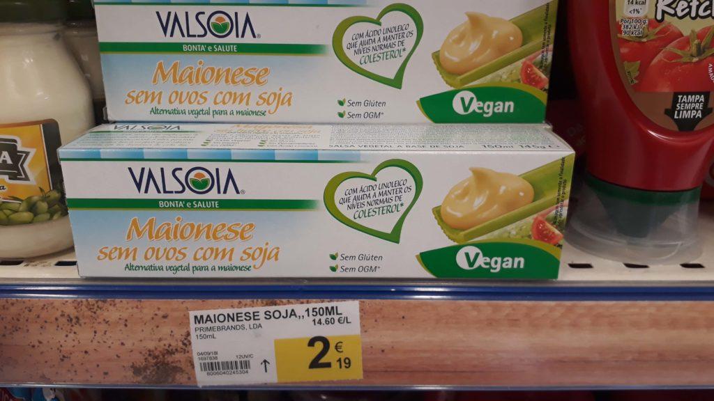Vegan mayo from Valsoia
