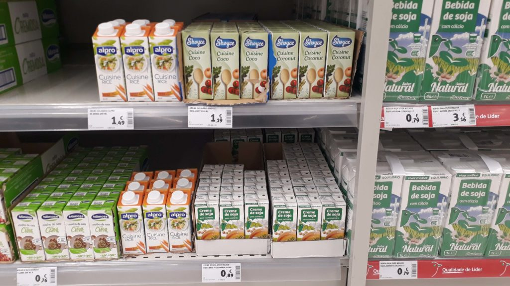 Vegan cream varieties