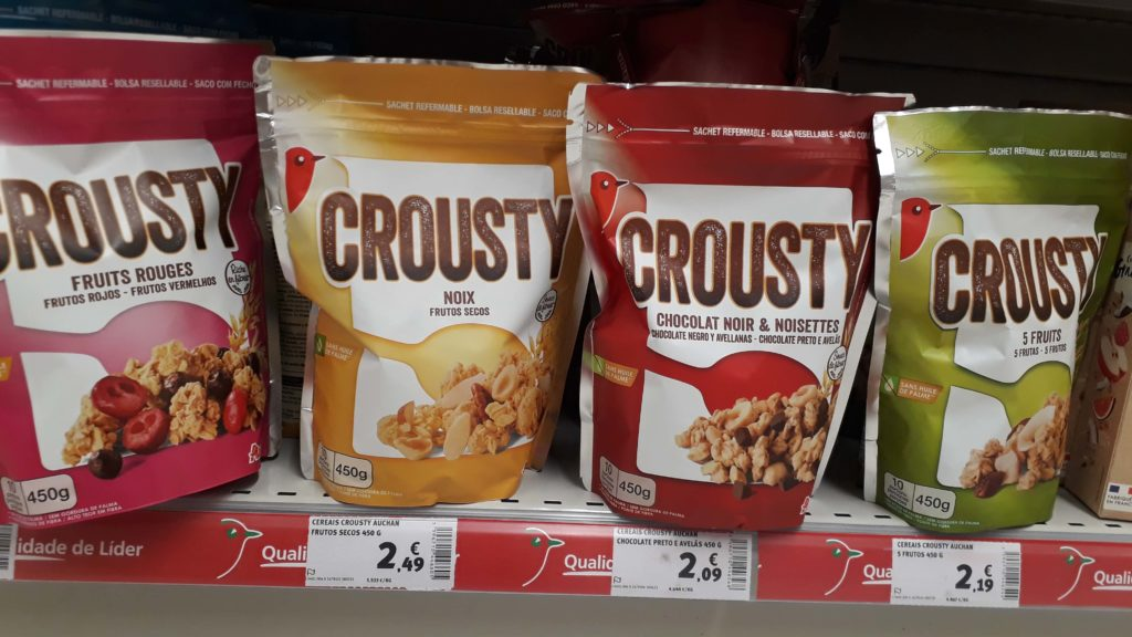 Vegan Crunchy Muesli in 4 varieties