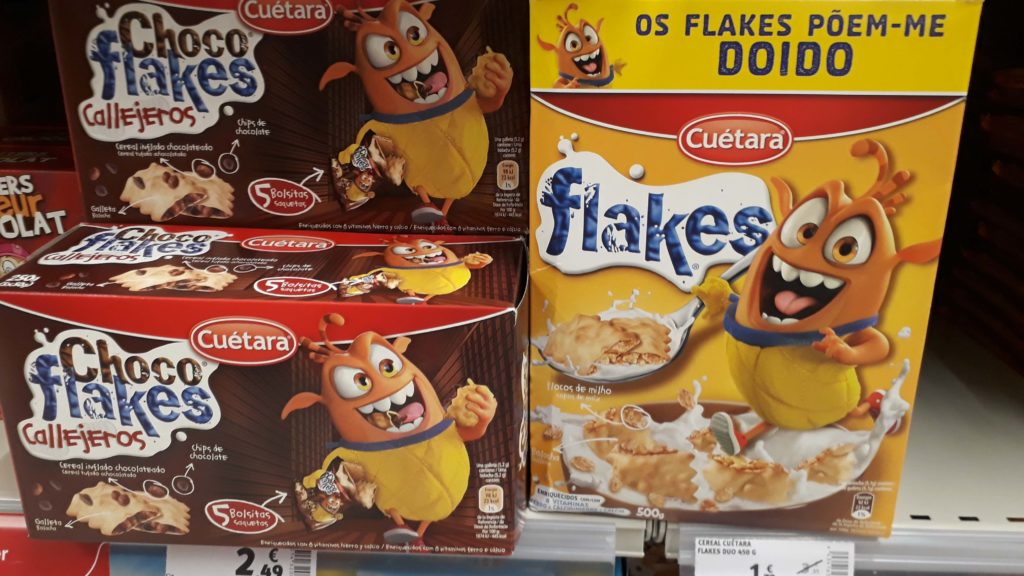 (Chocolate) flakes from Ceútara