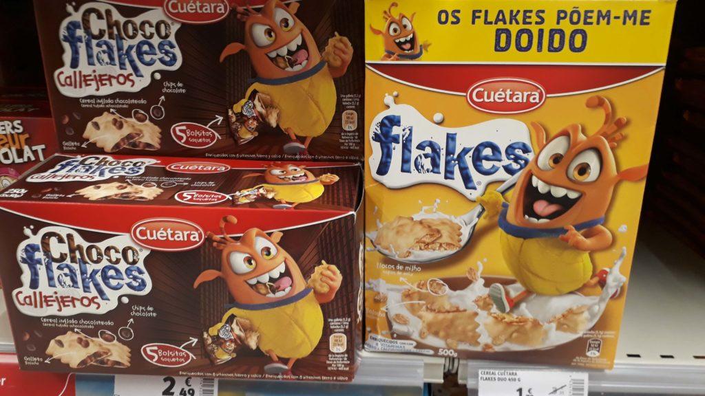 (Chocolate) flakes from Ceútara