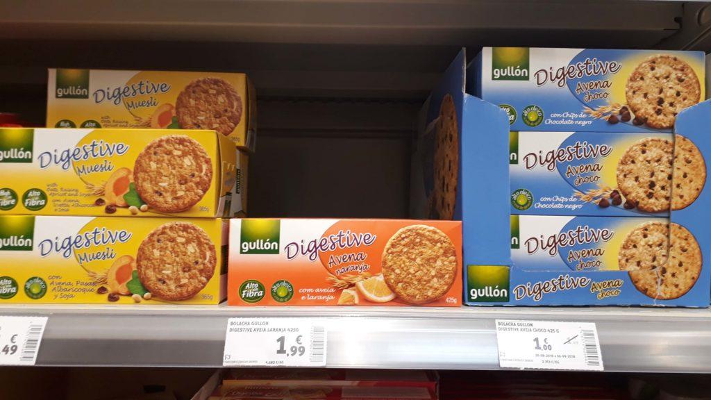 Vegan Digestive cookies by Gullón