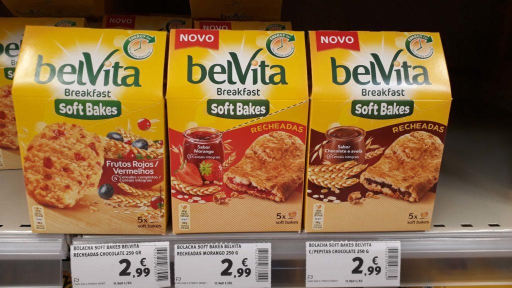 Vegan breakfast cookies from BelVita in 3 varieties